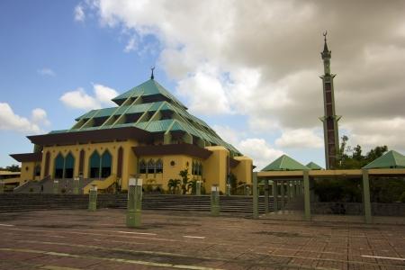 Masjid Raya Batam pyramid mosque, batam island, indonesia
