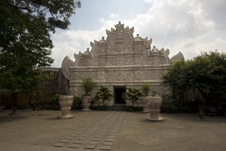 taman: former palace of indonesian sultan: taman sari castle, jogjakarta Editorial