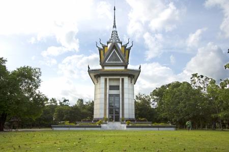 killing: Killing Field National Monument, Cambodia Editorial