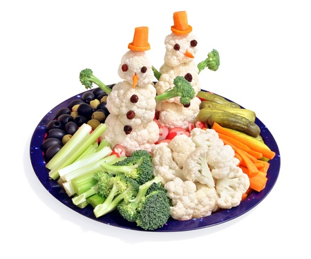 veggie tray: Fun way for kids to eat vegetables