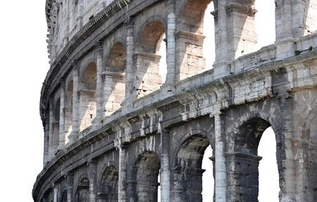 Roman Colosseum side
