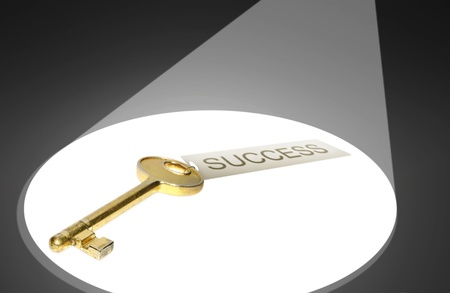 Key to success concept Stock Photo - 12460298