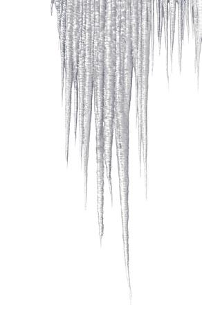 frigid: Long shiny icicles