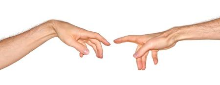 mano de dios: La creaci�n de Ad�n, basado en la pintura de Miguel �ngel de Dios al crear al hombre