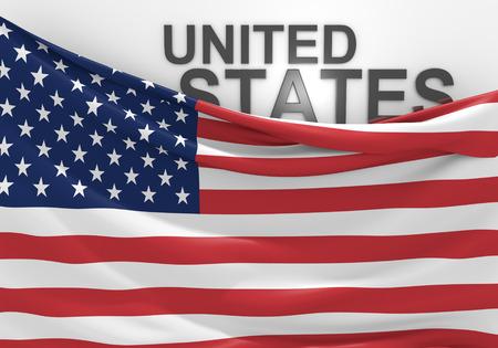 verenigde staten vlag: Verenigde Staten vlag en naam van het land