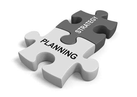 combining: Combining planning with strategy for a successful business goal