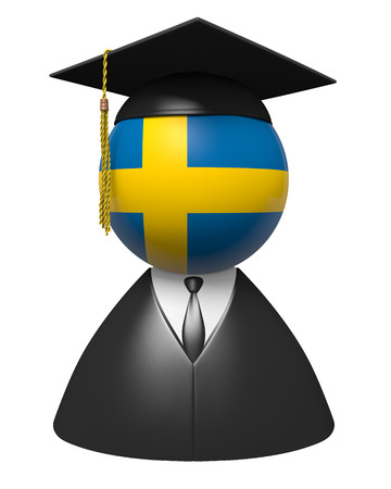 education in sweden: Sweden college graduate concept for schools and academic education