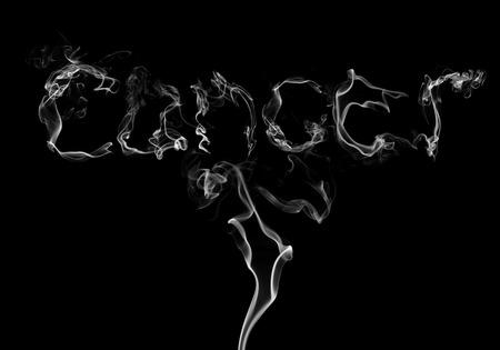 lungenkrebs: Lungenkrebs Gefahr aus dem Zigarettenrauch Einatmen