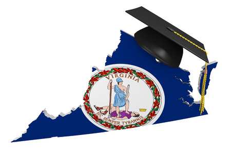 3d virginia: Virginia state college and university education