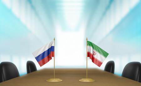 conversaciones: Rusia e Irán programa nuclear conversaciones deal Foto de archivo