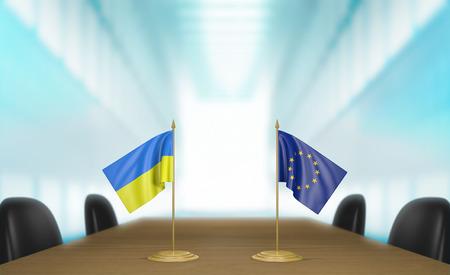 conversaciones: Ucrania y la Uni�n Europea conversaciones deal