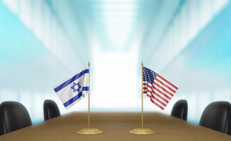 conversaciones: Israel y Estados Unidos las relaciones y conversaciones acuerdo comercial