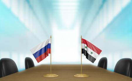 conversaciones: Rusia y Siria relaciones y conversaciones acuerdo comercial