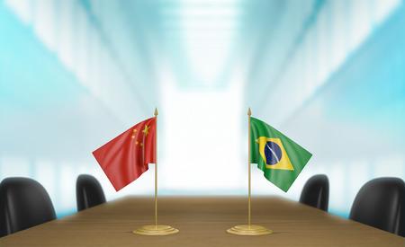 conversaciones: China y Brasil las relaciones y conversaciones acuerdo comercial