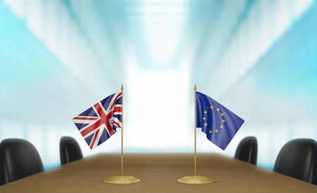 conversaciones: Las relaciones del Reino Unido y de la Uni�n Europea y charlas acuerdo comercial