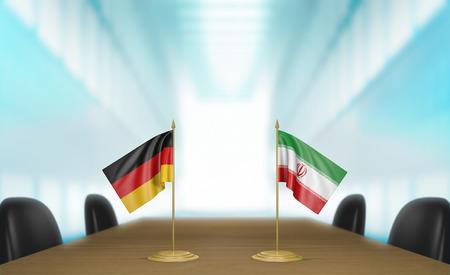 conversaciones: Alemania e Ir�n relaciones y conversaciones acuerdo comercial
