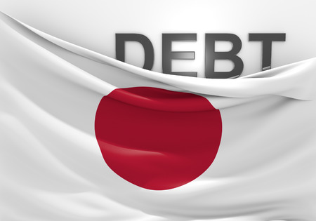 deficit: Japan national debt and budget deficit financial crisis