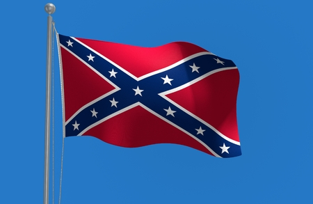 rebel flag: Southern rebel flag of the Confederate States of America