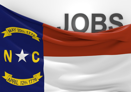 north carolina: North Carolina jobs and employment opportunities concept