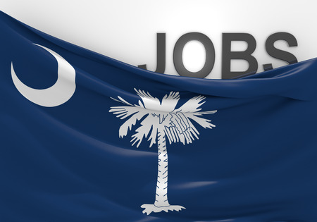 skilled labour: South Carolina jobs and employment opportunities concept Stock Photo