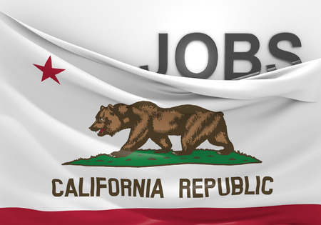 California jobs and employment opportunities concept
