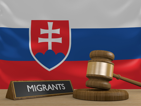 migrant: Slovakia and the Syrian migrant crisis in Europe