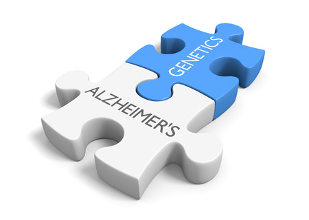 alzheimers: Link between genetics and Alzheimers disease