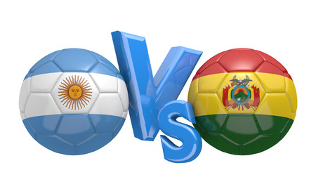 preliminary: Preliminary competition football match between national teams Argentina and Bolivia