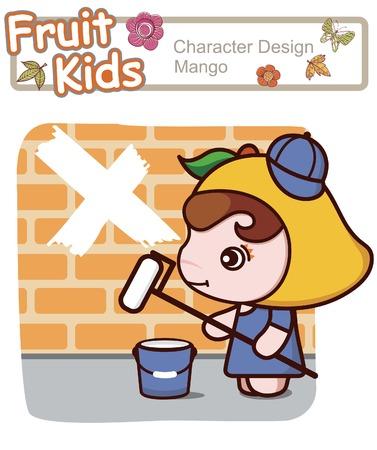 Active Kid 18 ------ Painting Illustration