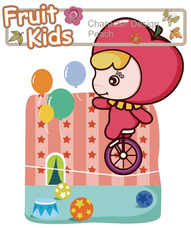Active Kid 10 ------ Circus Performance Vector