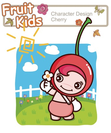 Active Kid 7 ------ Garden Illustration