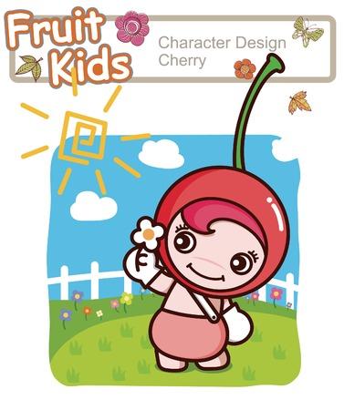 Active Kid 7 ------ Garden Illustration