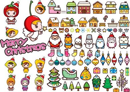 luge: Natale elementi di design