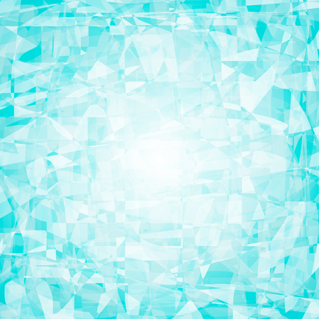 jewerly: Crystal, ice, gemstone blue vector abstract background for  text. Polygonal mosaic background illustration for creative business design templates