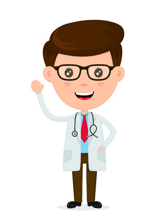 Cute funny smiling doctor.Healthcare,medical,doctor concept.