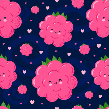 heart, love, smile, happy, character, cute, cartoon, doodle, hand drawn, kawaii, funny, eyes, vitamin, children, baby, face, nice, kids, delight, botanic, sweet, background, food, seamless, raspberry, summer, pattern, healthy, nature, fruit, wallpaper, illustration, texture, natural, vector, berry, design, graphic, tasty, dessert, organic, pink, plant, fresh, backdrop, harvest, vegetarian, juicy, diet, nutrition