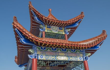 Chinese architecture pavilion Stock Photo - 18538165