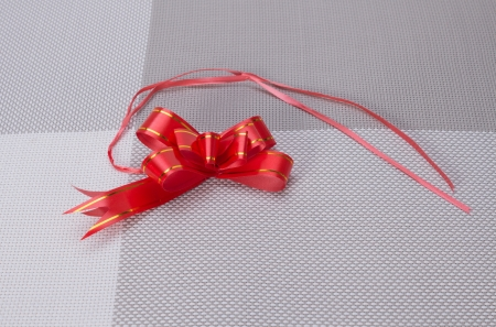 packing tape: Red bow for gift packaging packing tape