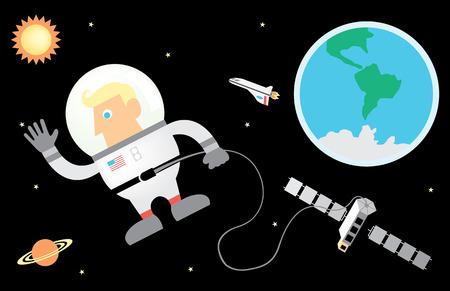 apollo: Astronaut and Space