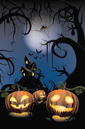 Halloween Pumpkin Stock Vector - 31075542