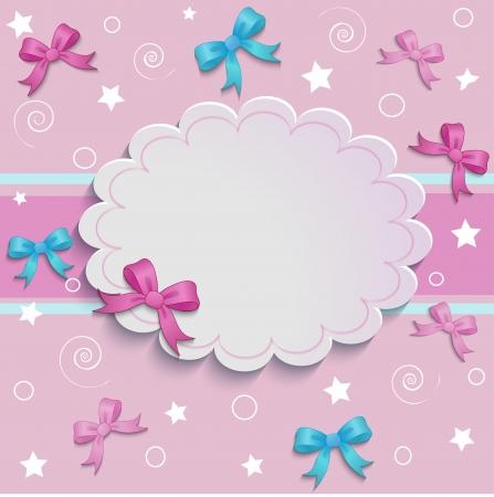Un lugar para una inscripción en un hermoso fondo de color rosa Foto de archivo - 22498533