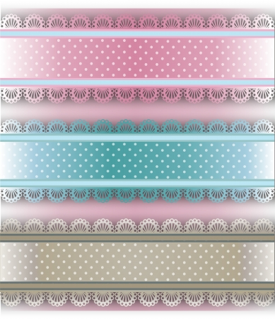 cor: straight lace, smart d�cor, delicate pastel shades of different,tape