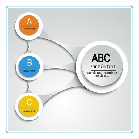 Modern Ontwerp Lay-out, sjabloon voor het plannen, informatie, data entry papier