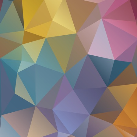 background pattern: Abstract Triangle Geometrical Multicolored Background, Vector Illustration