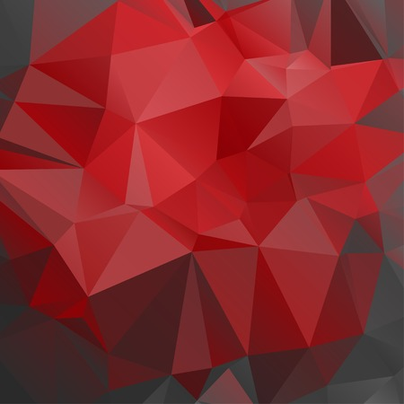 red abstract background: polygonal red abstract background