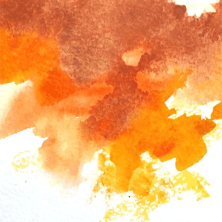 Abstract hand painted watercolor background. Vectores