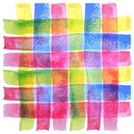 Abstract hand getekend aquarel achtergrond, voor achtergronden en texturen Stock Illustratie