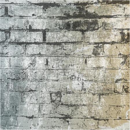 Grunge grijze muur textuur Stock Illustratie