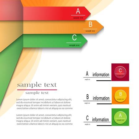 Minimal infographics. Vector