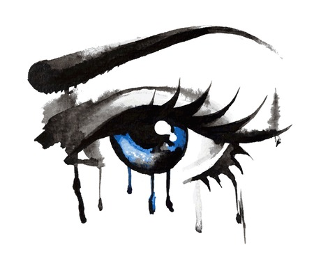 Eyes Hand Drawn